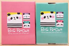 stationery set pink panda q lia stationery set with 5 pieces other
