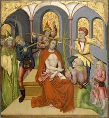 Image Of Christ by Altarpiece With The Passion Of Christ Christ Mocked The Walters