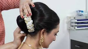 marriage bridal hairstyle indian asian bridal hairstyle tutorial youtube