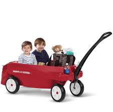 amazon black friday radio flyer tricylce radio flyer triple play wagon 3 kids toddler ride 6 cup holder