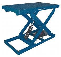 bishamon scissor lift table cap 2000 lb 36x48 45a260 l2k 3648