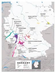 map of regions of germany detailed germany wine regions map wine posters wine folly