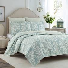 laura ashley rowland 3 piece quilt set jcpenney