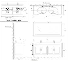 Bathroom Vanity Standard Sizes by Brilliant Bathroom Vanity Sizes Chart Standard Double Dimensions