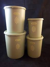 vintage kitchen canisters sets vintage lincoln beautyware canister set avacado green 3pc