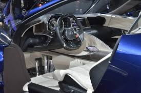 lexus lf lc interior lexus lf lc and lf cc on display at the la auto show which one do