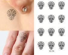 sugar skull finger tattoo tattoo collections
