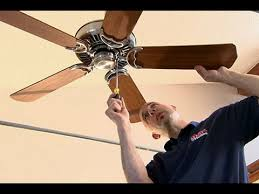 can you replace ceiling fan blades how to install a ceiling fan on a cathedral ceiling youtube