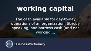 what is working capital definition and meaning