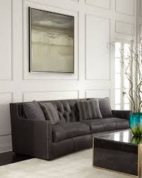 Gray Nailhead Sofa Nailhead Trim Sofa Neiman Marcus