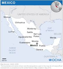 Chihuahua Mexico Map by Mexico Location Map 2013 Mexico Reliefweb