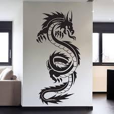 tribal chinese dragon tattoos online buy wholesale dragon tattoo tribal from china dragon tattoo