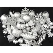 Pack Of 75 Christmas Decorations Blue Silver And White by Christmas Ornaments Shop The Best Deals For Nov 2017 Overstock Com