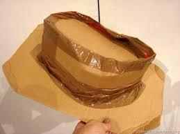 como hacer un sombrero de carton cómo hacer un sombrero de vaquero manualidades infantiles