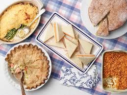 Southern Comfort Appetizers Trisha U0027s Southern Comfort Potluck Food Network Classic Comfort