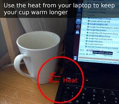 cup hook hack keep your coffee warm longer there s a hack for that