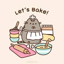Baking Meme - let s bake pusheen know your meme