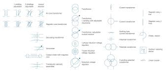 electrical symbols rotating equipment