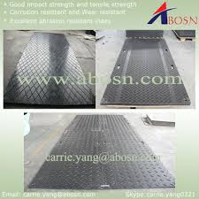 plastic road mat temporary protective floor covering during