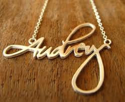 Custom Gold Name Necklace Unthinkable Name Pendant Necklace Gold Personalized Jewelry Heart