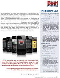mobile app dealer magazine article prestige imports
