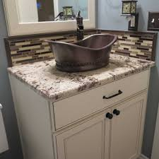 Bathroom Countertop Decorating Ideas by Granite Bathroom Countertops With Sink Corian Prestige Marble