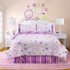 girls pink and purple bedding pink purple stars u0026 stripes girls bedding twin full comforter set