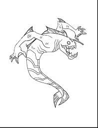 stunning ben coloring pages printable with ben 10 coloring pages