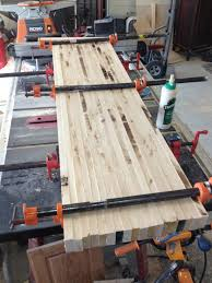 8 steps to building a butcher block countertop pennington millworks step