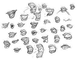 sketches studies u2013 lady lips u2013 hooksnfangs