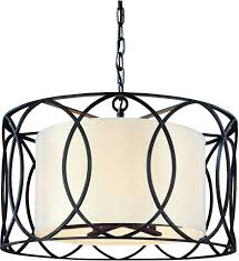 sausalito five light chandelier amazon com five light wrought iron chandelier with center drum