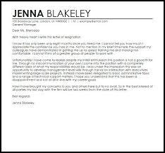 good letter of resignation resignation letter format confirm very