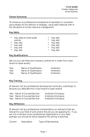 Quicker Jobs Resume by Key Skills In Resume For Freshers Free Resume Example And
