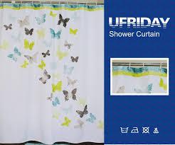Peva Shower Curtain Liner Ufriday Waterproof Peva Shower Curtain Liner Non Toxic Mildew