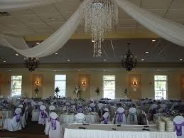 How To Hang Ceiling Drapes For Events Chair Covers Of Lansing Columns And Backdrops