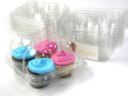 amazon com katgely cupcake boxes cupcake containers 4 pack