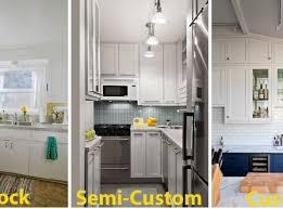 best semi custom kitchen cabinets everlast construction
