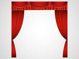 Stage With Curtains Curtain Clipart Stage Screen Pencil And In Color Curtain Clipart
