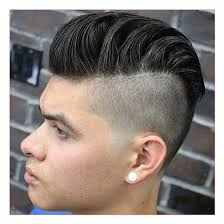 good haircuts for men with round faces plus disconnected undercut