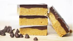 no bake chocolate peanut butter bars recipe diy holiday treats