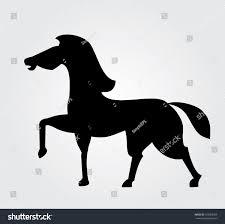 simple web icon vector horse stock vector 163928369 shutterstock