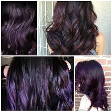 weave hairstyles with purple tips best hair color ideas trends in 2017 2018
