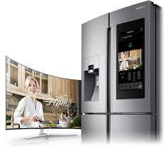 Frigo Samsung But by Family Hub Fridge Freezer 550l Rf56k9540sr Samsung Uk