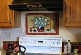 best of ceramic tile murals for kitchen backsplash home design