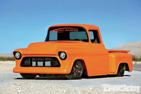 Classic Chevy Trucks 1956 - 1956 chevrolet stepside truckin magazine