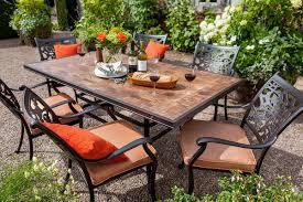 Aria Patio Furniture Outdoors The - hartman celtic aria 6 seat rectangular set hayes garden world