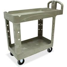 rubbermaid service cart with cabinet rubbermaid two shelf service cart beige walmart com