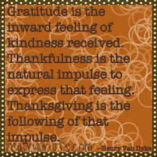 words a thanksgiving quote
