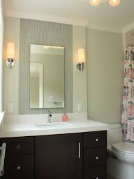frameless vanity mirrors rectangular bathroom intended for