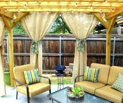 Patio Curtains Outdoor Outdoor Curtains For Patio Expatworld Club